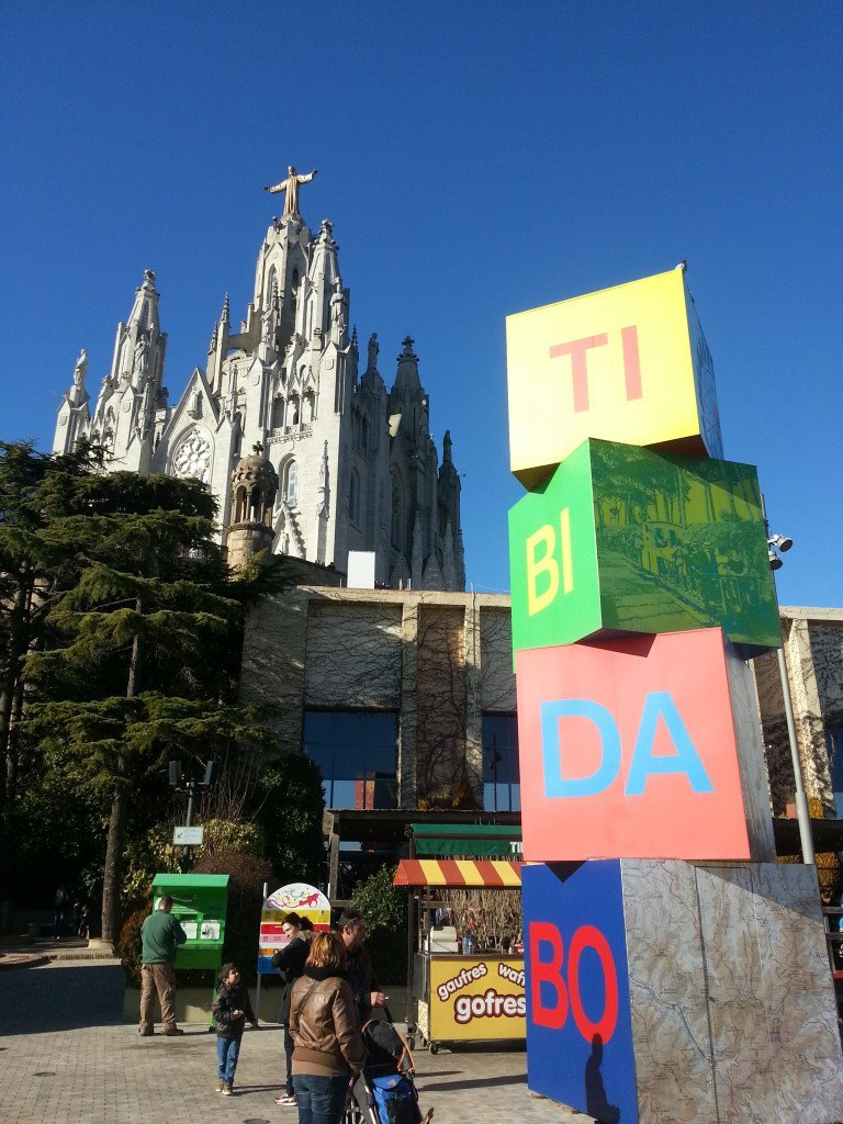 TIBIDABO IN WINTER