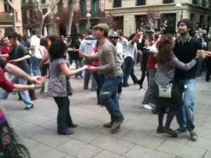 DANCING SWING IN BARCELONA