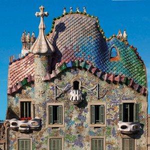 Eixample neighborhood Barcelona